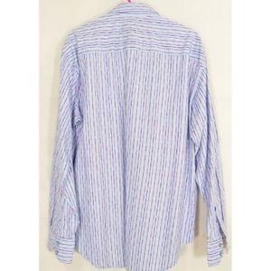 Robert Graham Shirts - Robert Graham shirt men XL blue red blue stripes